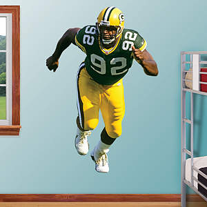 Reggie White Fathead Wall Decal